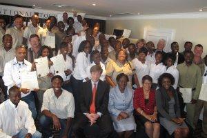 Tour guides receive cerificates through MCA-N grant