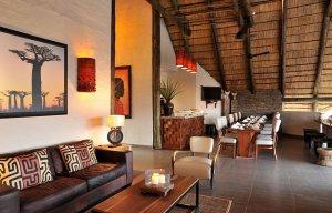 Victoria Falls Safari Club Lounge Area
