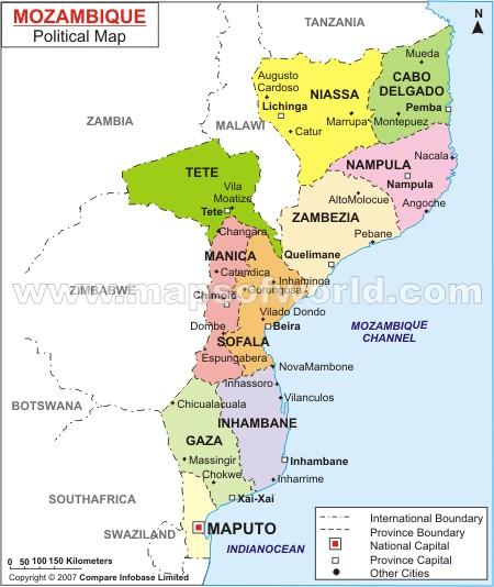 mozambique_political_map
