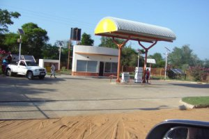 New Service Station in Mabote
