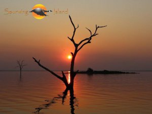 A typical Kariba sunset