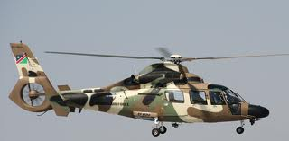 namibian airforce helicopter