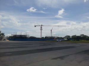 Work on the new terminal