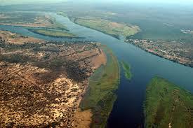 Aerial View of Kazungula