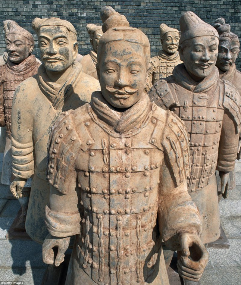 Terracotta Army, China: More than 8,000 soldiers, 130 chariots and 670 horses from this vast, life-size clay army, protecting China's first emperor in the afterlife