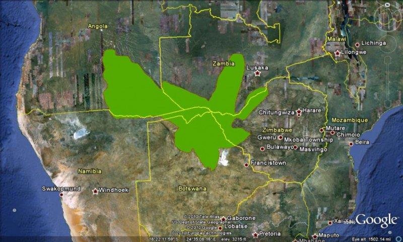 kaza map