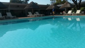 Sprayview pool area
