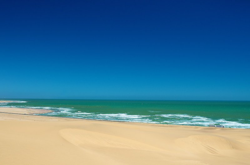 The Namibian coast is spectacular during winter.