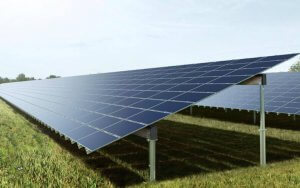 Solar farm using thin film PV panels. Source: Belectric. All Rights Reserved.