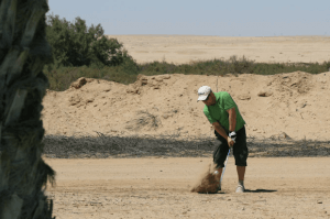 Sometimes the fairway is the bunker! (Image via 2Travel4Ever)