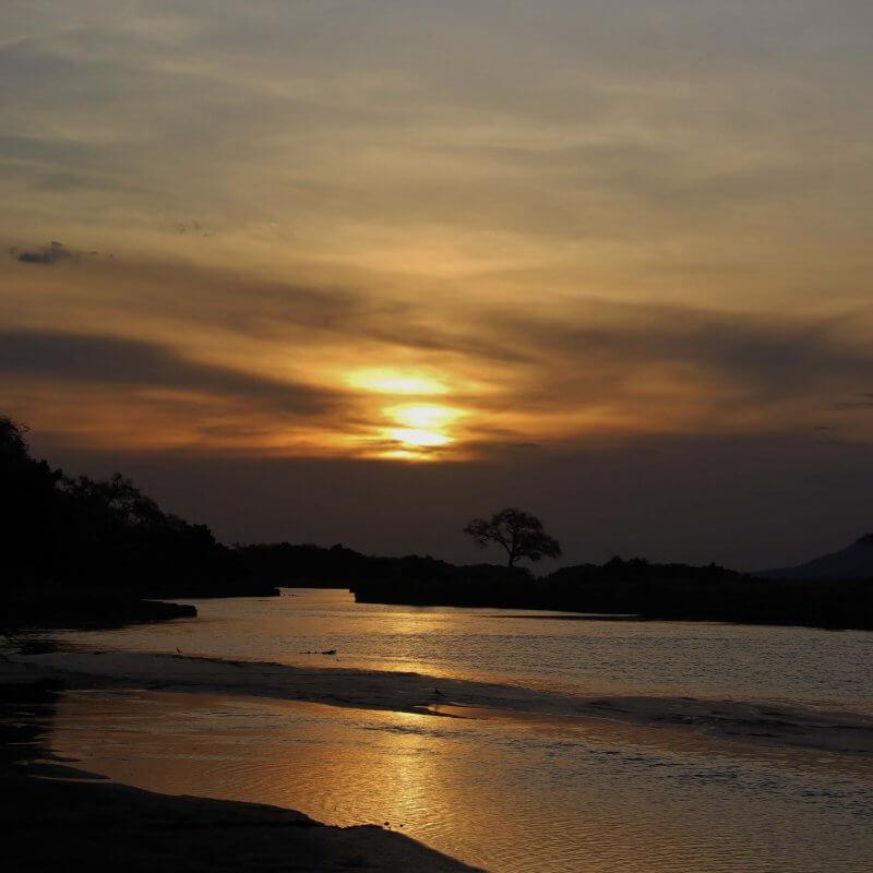 Mana Sunset from Muchichiri Photo credit J Brown