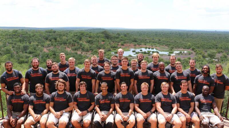 The Cheetahs at Victoria Falls Safari Lodge